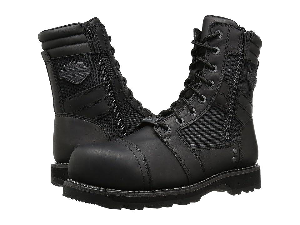 Harley-Davidson Boxbury Composite Toe (Black) Men