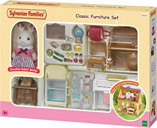 SYLVANIAN FAMILIES- Classic Furniture for Cosy Cottage Starter Home Set Mini muñecas y Accesorios Multicolor (Epoch para ...