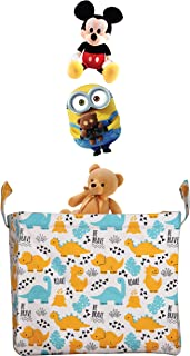 Polka Tots Toy Storage Organizer for Kids Multi Functional Toy Box to Store Kids Toys Books
