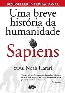 Capa do livro Sapiens - Uma Breve História da Humanidade