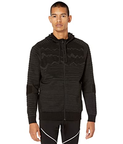 Smartwool Intraknit HyFi Full Zip Hoodie (Black) Men