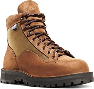 """Danner Light II 6"""" Brown Nubuck Leather (33000) Outdoor Boots Waterproof 