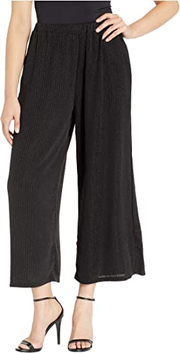Metallic Stripe Culottes