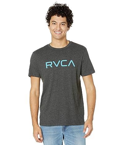 RVCA Big RVCA T-Shirt Short Sleeve (Black/Blue) Men