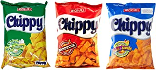 Jack n Jill Chippy Corn Chips Assorted Pack (Garlic & Vinegar, Barbecue and Chili & Cheese)