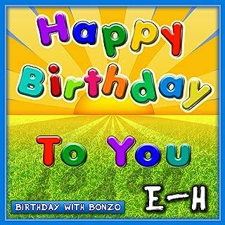 Hamish Happy Birthday to You