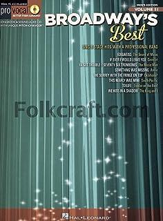 Hal Leonard Broadway's Best-Pro Vocal Men's Edition Volume #51 (Book and CD)