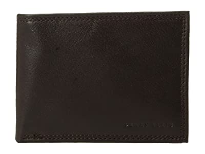 Perry Ellis Portfolio RFID Passcase (Brown) Bi-fold Wallet