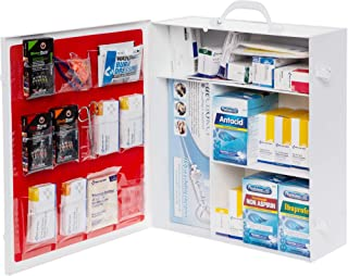 Dechoker Restaurant First Aid Kit - Includes Adult Anti Choking Device and 25 First Aid Products Like Scissors Bandages Pain Relievers and More - Safe, Effective Way to Keep Your Family Safe