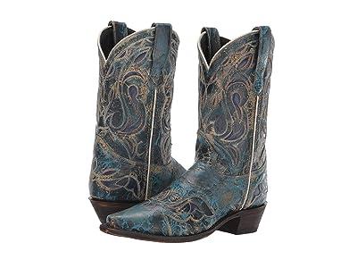 Laredo No More Drama (Blue) Cowboy Boots