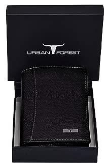 Urban Forest Orlando Men's Black Leather Wallet