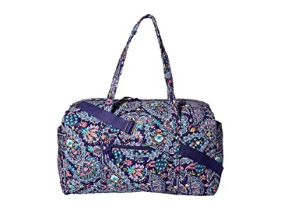 Vera Bradley Large Travel Duffel (French Paisley) Handbags