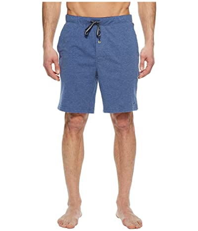 Nautica Knit Sleep Shorts (Blue Indigo Heather) Men
