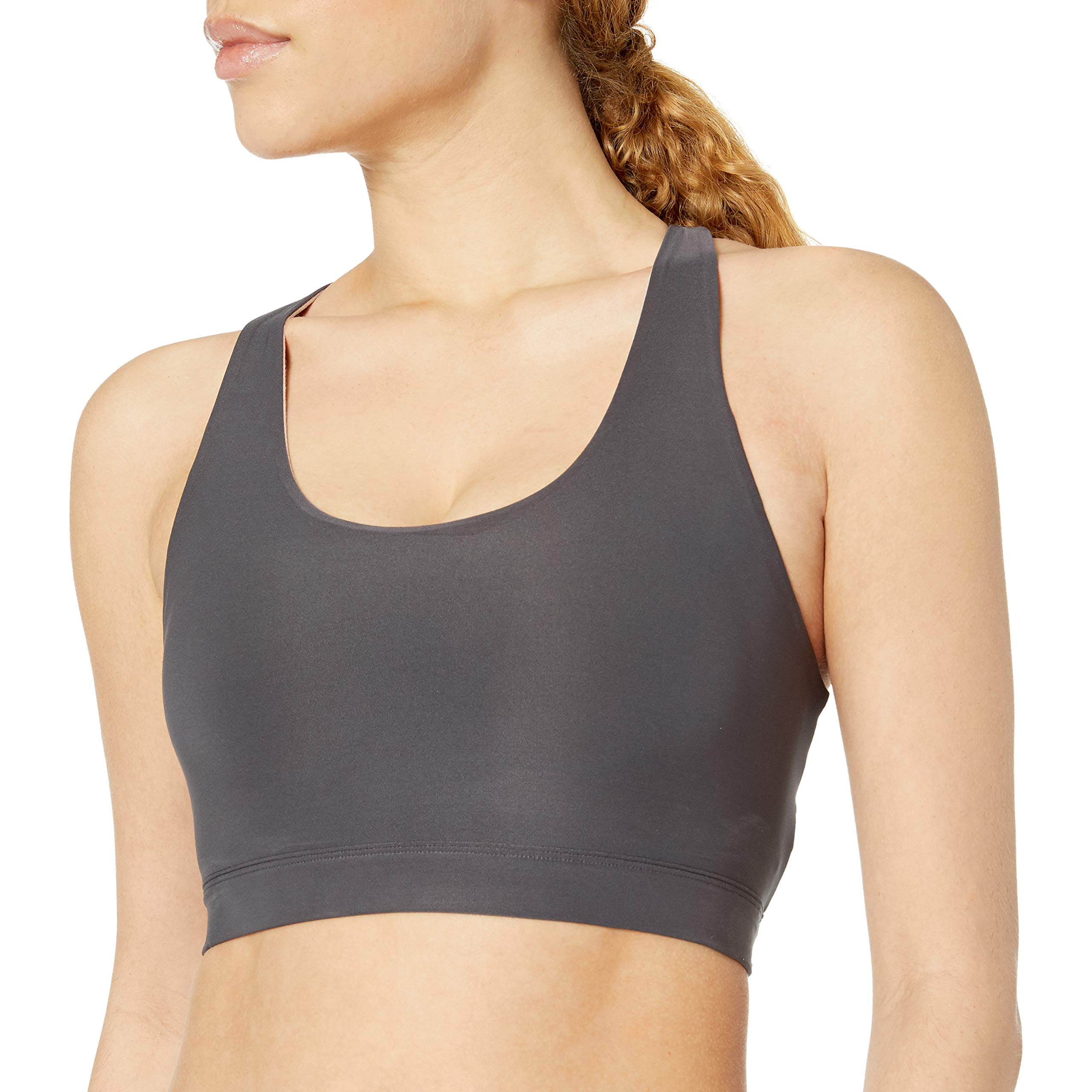 Brand Core 10 Womens Scallop Racerback Yoga Sports Bra