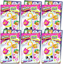 Shopkins Coloring and Activity Book Party Favors Pack ~ Set of 6 Shopkins Coloring Books with Stickers (Shopkins Party Supplies)