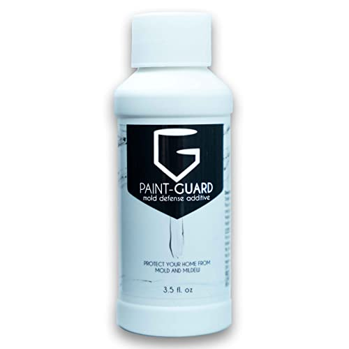 Paint-Guard Mold Prevention Paint Additive - Mix Into Paint to Protect Walls, Ceilings