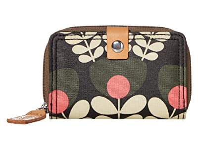 Orla Kiely Bunch of Stems Medium Foldout Wallet (Forest) Bi-fold Wallet