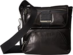 Alpha Bravo Barton Leather Crossbody