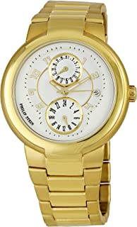 Philip Stein Women's 31-AGW-GSS Active Gold Plated Bracelet Watch