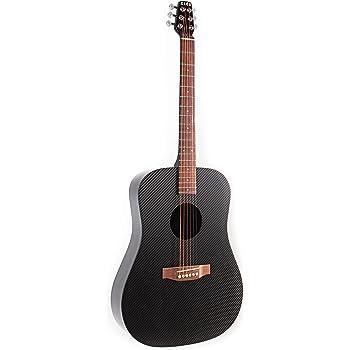 Dimensioni in fibra di carbonio completa la chitarra elettrica acustica Package (chitarra, Gig Bag, la cinghia, Capo, e più)