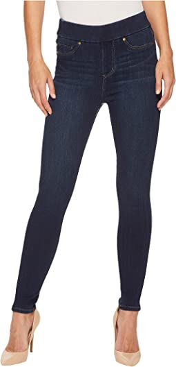 Liverpool - Farrah High-Waist Pull-On Ankle in Silky Soft Denim in Griffith Super Dark