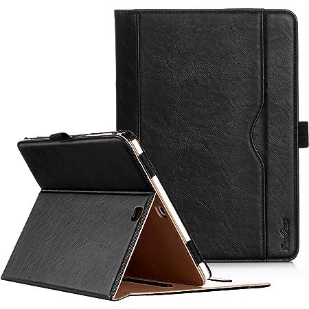 """ProCase Funda para Samsung Galaxy Tab S2 9.7"""" Modelo SM-T810 T815 T813, Folio Case de Cuero con Soporte para S Pen Compatible con Samsung Galaxy Tab S2 Tablet 9.7 Pulgadas - Negro"""