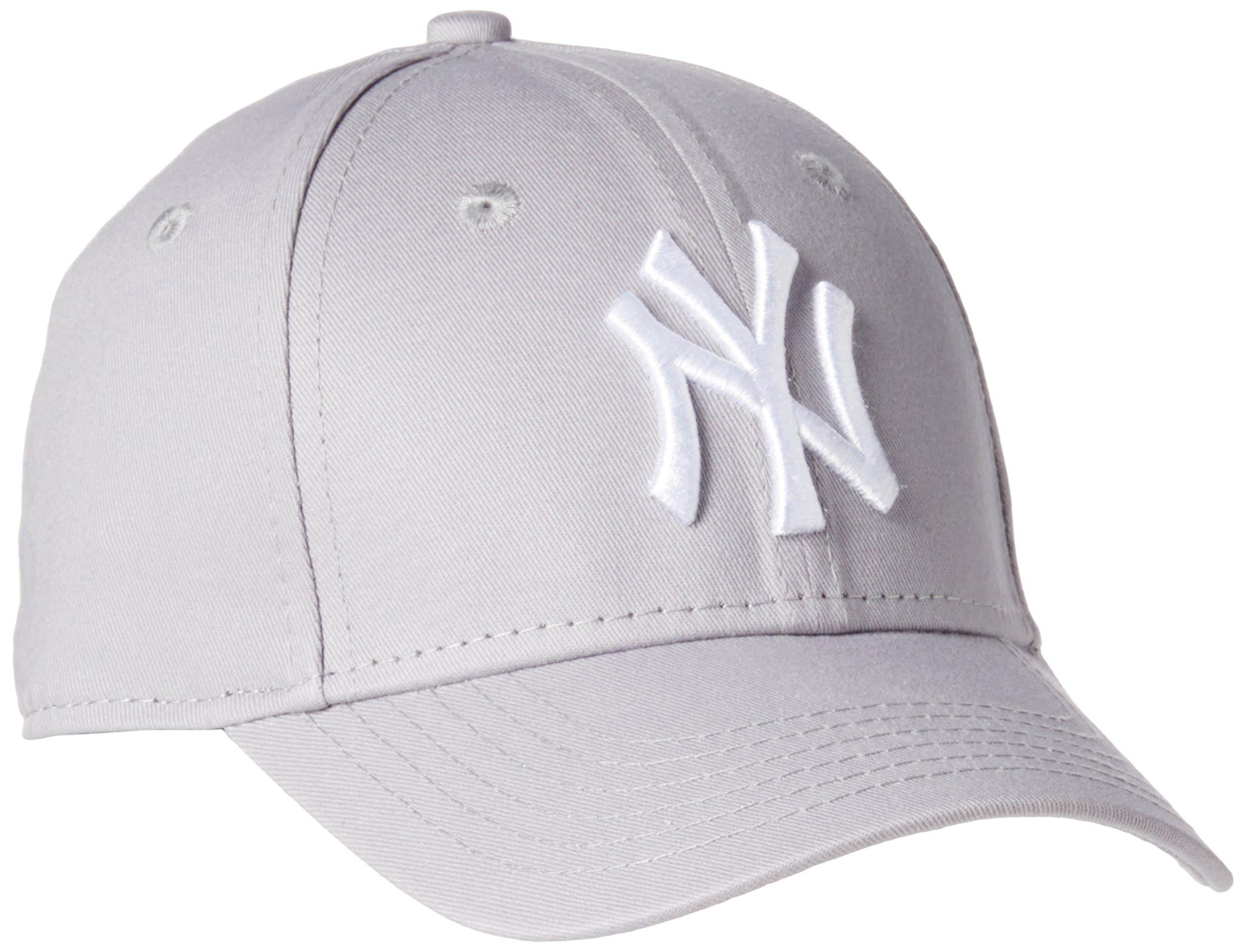 New Era 男童 MLB Basic NY Yankees 9Forty 可调节棒球帽
