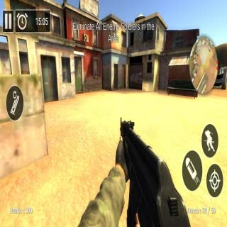 Free Shooting Battleground Strike Game- 3D Sniper Gun Simulator