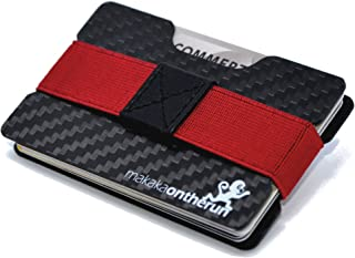 Ultra-Slim Minimalist Card Holder (Real Carbon Fibre). NFC & RFID Blocking Protection. (Minimalist Wallet, Slim Credit Car...