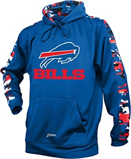 Zubaz Adult Men Buffalo Bills, Camo Print, Medium