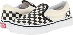 8f0de24bbd72f4 (Checkerboard) Black White. 2367. Vans Kids. Classic Slip-On (Little ...