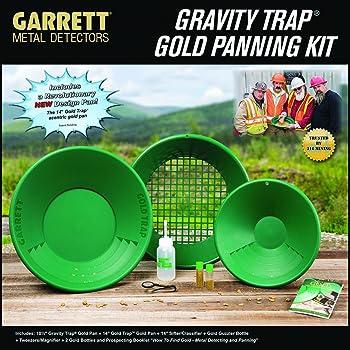Garrett Metal Detectors New Gold Pan Kit, GAR1651310