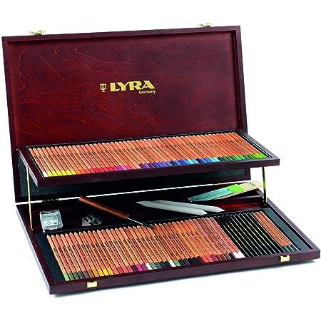 Lyra Rembrandt Polycolor, valigetta prestige, colori assortiti