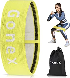 Gonex Resistance Bands Booty Bands for Legs and Butt, Exercise Bands for Arms & Shoulder Fitness Anti-Slip Elastic Workout...