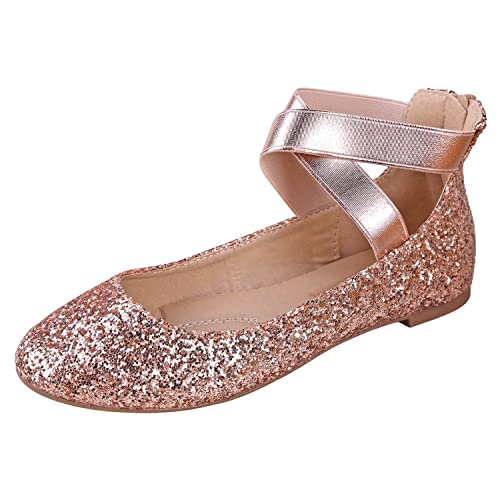 d616526e5922 ANNA Dana-20 Women s Classic Ballerina Flats Elastic Crossing Straps
