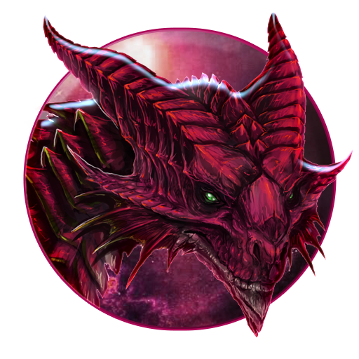 Blazing Demon Fire Dragon Live Wallpaper