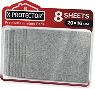 Meubilair Pads Vloerbeschermers X-PROTECTOR 8 PCS 20x16cm - Vilten Pads voor Stoelpoten - Premium Meubilair Vilten Pads vo...
