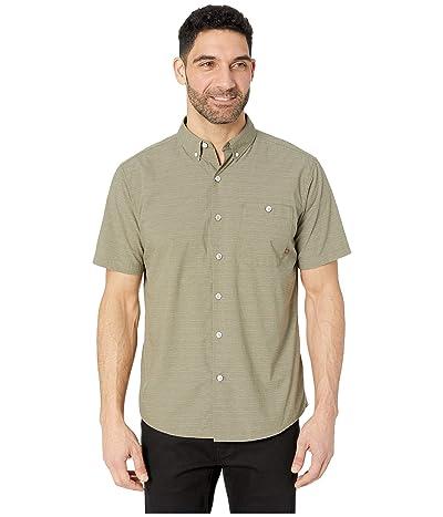 Mountain Hardwear Clear Creektm Short Sleeve Shirt (Light Army) Men