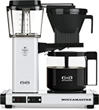 Technivorm Moccamaster 59461 KBG Coffee Brewer, 40 oz, White (Renewed)