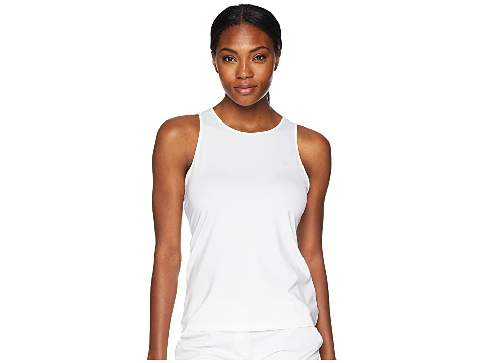 Vineyard Vines Golf Sport Peekaboo Tank Top (White Cap) Women