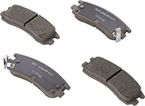 ACDelco 14D698CH Advantage Ceramic Rear Disc Brake Pad Set