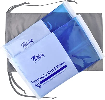 Gel Pack Large - (2-Pack) - Reusable Cold Pack Provides Instant Pain