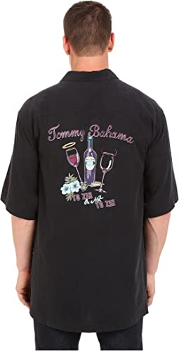 Tommy Bahama Big & Tall - Big & Tall To Zin or Not to Zin Camp Shirt