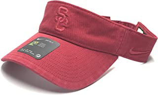 Unisex SC Visor, V. Crimson, One Size