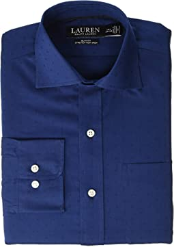 Non-Iron Slim Fit Dobby Dress Shirt