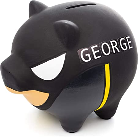 Black/&Purple Unique Coin Piggy Bank Doll with Hook for Kids/&Adults Soft Plush Gifts for Game Fans,5 inch PANSHI Among Us March Toy