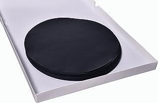 Camlab1191191248 240 mm, 100 unidades color negro Papel de filtro de grado 918