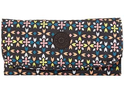 Kipling Money Land RFID Wallet (Floral Mozzaik) Handbags
