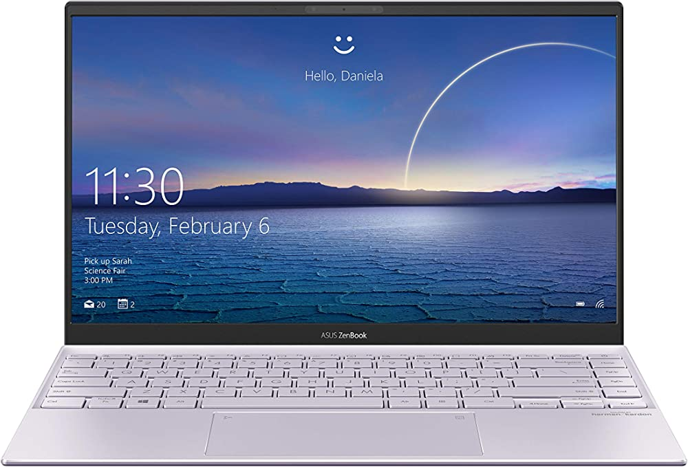 Asus zenbook  notebook in alluminio con monitor 14