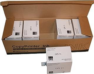 5 Compatible HQ40 Black Duplicator Ink Cartridges, Compatible with Ricoh HQ-40 RICHQ40C